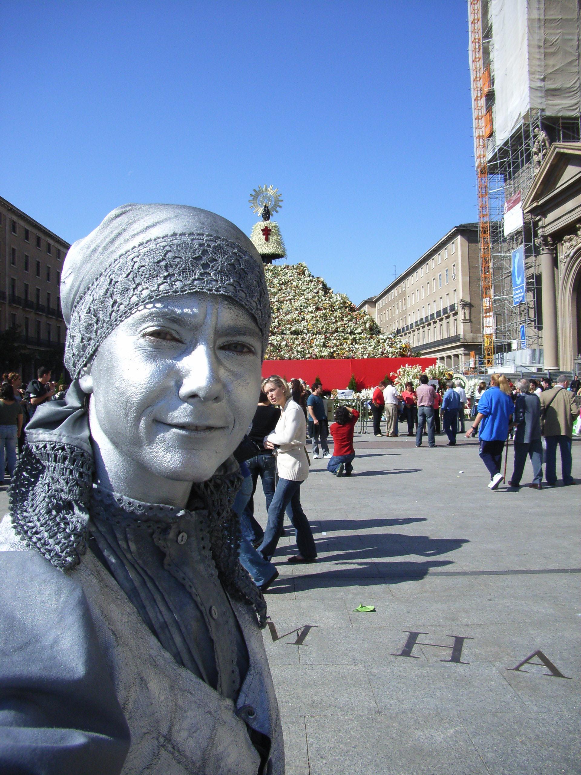 Die Fiesta de Pilar in Zaragoza